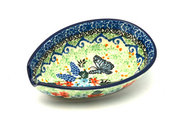 Ceramika Artystyczna Polish Pottery Spoon Rest - Unikat Signature - U4600 381-U4600 (Ceramika Artystyczna)