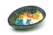 Ceramika Artystyczna Polish Pottery Spoon Rest - Unikat Signature - U4612 381-U4612 (Ceramika Artystyczna)