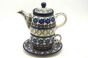 Ceramika Artystyczna Polish Pottery Tea Time for One - Primrose 423-854a (Ceramika Artystyczna)