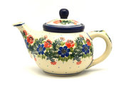 Ceramika Artystyczna Polish Pottery Teapot - 14 oz. - Garden Party 120-1535a (Ceramika Artystyczna)
