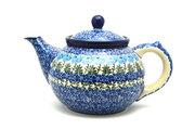Ceramika Artystyczna Polish Pottery Teapot - 1 1/4 qt. - Antique Rose 060-1390a (Ceramika Artystyczna)