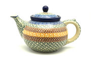 Ceramika Artystyczna Polish Pottery Teapot - 1 1/4 qt. - Autumn 060-050a (Ceramika Artystyczna)