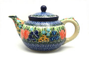 Ceramika Artystyczna Polish Pottery Teapot - 1 1/4 qt. - Unikat Signature U3516 060-U3516 (Ceramika Artystyczna)
