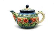 Ceramika Artystyczna Polish Pottery Teapot - 1 1/4 qt. - Unikat Signature U4400 060-U4400 (Ceramika Artystyczna)