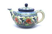 Ceramika Artystyczna Polish Pottery Teapot - 1 1/4 qt. - Unikat Signature U4553 060-U4553 (Ceramika Artystyczna)