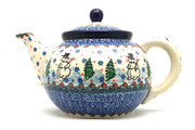 Ceramika Artystyczna Polish Pottery Teapot - 1 1/4 qt. - Unikat Signature U4661 060-U4661 (Ceramika Artystyczna)