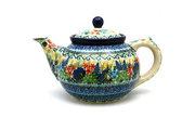 Ceramika Artystyczna Polish Pottery Teapot - 1 1/4 qt. - Unikat Signature U4695 060-U4695 (Ceramika Artystyczna)