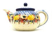 Ceramika Artystyczna Polish Pottery Teapot - 1 1/4 qt. - Unikat Signature U4741 060-U4741 (Ceramika Artystyczna)