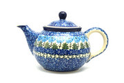Ceramika Artystyczna Polish Pottery Teapot - 3/4 qt. - Antique Rose 264-1390a (Ceramika Artystyczna)