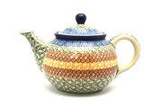 Ceramika Artystyczna Polish Pottery Teapot - 3/4 qt. - Autumn 264-050a (Ceramika Artystyczna)
