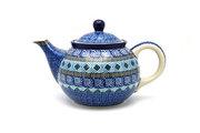 Ceramika Artystyczna Polish Pottery Teapot - 3/4 qt. - Aztec Sky 264-1917a (Ceramika Artystyczna)