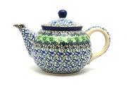 Ceramika Artystyczna Polish Pottery Teapot - 3/4 qt. - Kiwi 264-1479a (Ceramika Artystyczna)