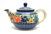Ceramika Artystyczna Polish Pottery Teapot - 3/4 qt. - Unikat Signature - U3516 264-U3516 (Ceramika Artystyczna)