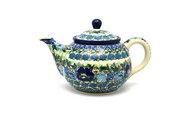 Ceramika Artystyczna Polish Pottery Teapot - 3/4 qt. - Unikat Signature - U4520 264-U4520 (Ceramika Artystyczna)
