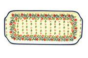 "Ceramika Artystyczna Polish Pottery Tray - Appetizer - 12"" - Christmas Pageant 410-1972a (Ceramika Artystyczna)"