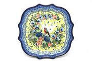 Ceramika Artystyczna Polish Pottery Tray - Serpentine Edge - Unikat Signature U4512 507-U4512 (Ceramika Artystyczna)
