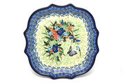 Ceramika Artystyczna Polish Pottery Tray - Serpentine Edge - Unikat Signature U4600 507-U4600 (Ceramika Artystyczna)