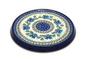 Ceramika Artystyczna Polish Pottery Trivet - Morning Glory 277-1915a (Ceramika Artystyczna)