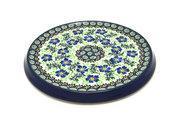 Ceramika Artystyczna Polish Pottery Trivet - Sweet Violet 277-1538a (Ceramika Artystyczna)