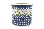 Ceramika Artystyczna Polish Pottery Utensil Holder - Bleeding Heart 003-377o (Ceramika Artystyczna)