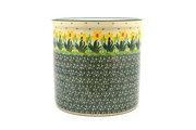 Ceramika Artystyczna Polish Pottery Utensil Holder - Daffodil 003-2122q (Ceramika Artystyczna)