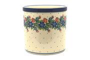 Ceramika Artystyczna Polish Pottery Utensil Holder - Garden Party 003-1535a (Ceramika Artystyczna)