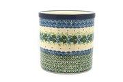 Ceramika Artystyczna Polish Pottery Utensil Holder - Ivy Trail 003-1898a (Ceramika Artystyczna)
