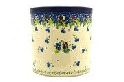 Ceramika Artystyczna Polish Pottery Utensil Holder - Plum Luck 003-2509a (Ceramika Artystyczna)