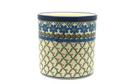 Ceramika Artystyczna Polish Pottery Utensil Holder - Primrose 003-854a (Ceramika Artystyczna)
