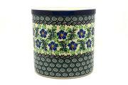 Ceramika Artystyczna Polish Pottery Utensil Holder - Sweet Violet 003-1538a (Ceramika Artystyczna)