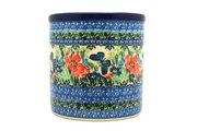 Ceramika Artystyczna Polish Pottery Utensil Holder - Unikat Signature U4553 003-U4553 (Ceramika Artystyczna)
