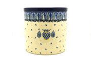 Ceramika Artystyczna Polish Pottery Utensil Holder - Unikat Signature U4873 003-U4873 (Ceramika Artystyczna)
