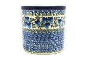 Ceramika Artystyczna Polish Pottery Utensil Holder - Winter Viola 003-2273a (Ceramika Artystyczna)