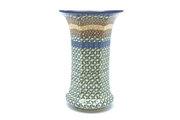 Ceramika Artystyczna Polish Pottery Vase - Large - Autumn 052-050a (Ceramika Artystyczna)