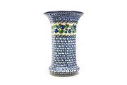 Ceramika Artystyczna Polish Pottery Vase - Large - Blue Berries 052-1416a (Ceramika Artystyczna)