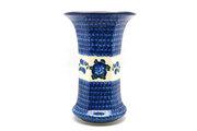 Ceramika Artystyczna Polish Pottery Vase - Large - Blue Poppy 052-163a (Ceramika Artystyczna)