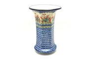 Ceramika Artystyczna Polish Pottery Vase - Large - Crimson Bells 052-1437a (Ceramika Artystyczna)