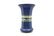Ceramika Artystyczna Polish Pottery Vase - Large - Morning Glory 052-1915a (Ceramika Artystyczna)