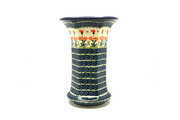 Ceramika Artystyczna Polish Pottery Vase - Large - Peach Spring Daisy 052-560a (Ceramika Artystyczna)
