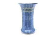 Ceramika Artystyczna Polish Pottery Vase - Large - Peacock Feather 052-1513a (Ceramika Artystyczna)