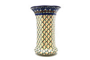 Ceramika Artystyczna Polish Pottery Vase - Large - Primrose 052-854a (Ceramika Artystyczna)