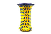 Ceramika Artystyczna Polish Pottery Vase - Large - Sunburst 052-859a (Ceramika Artystyczna)