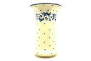 Ceramika Artystyczna Polish Pottery Vase - Large - White Poppy 052-2222a (Ceramika Artystyczna)