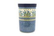 Ceramika Artystyczna Polish Pottery Wine Crock - Blue Bells 169-1432a (Ceramika Artystyczna)