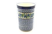 Ceramika Artystyczna Polish Pottery Wine Crock - Blue Berries 169-1416a (Ceramika Artystyczna)