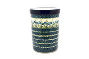 Ceramika Artystyczna Polish Pottery Wine Crock - Blue Spring Daisy 169-614a (Ceramika Artystyczna)