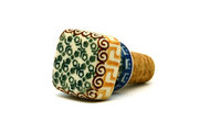 Ceramika Artystyczna Polish Pottery Wine Stopper - Autumn 832-050a (Ceramika Artystyczna)