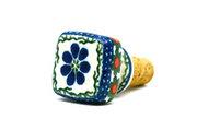 Ceramika Artystyczna Polish Pottery Wine Stopper - Primrose 832-854a (Ceramika Artystyczna)