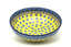 Ceramika Artystyczna Polish Pottery Bowl - Contemporary Salad - Sunburst