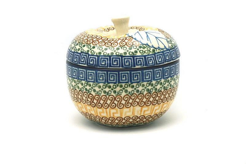 Ceramika Artystyczna Polish Pottery Apple Baker - Autumn 034-050a (Ceramika Artystyczna)